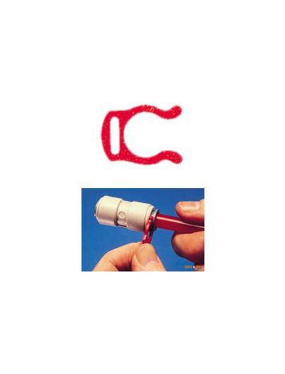 "Sicherungs-Ring 1/4"" rot"