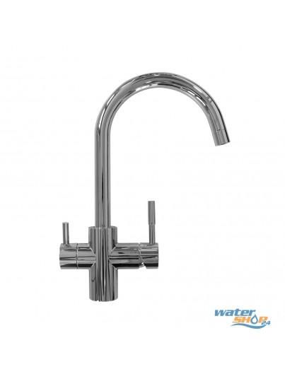 Malta 4-Wege-Wasserhahn - HYDRON geeignet