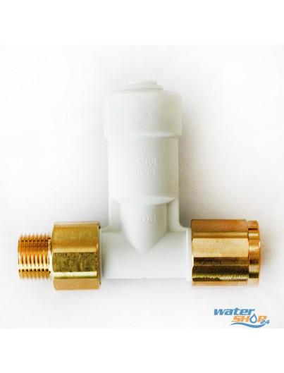Winkel-Absperr-Ventil mit Rückschlagventil ASV9