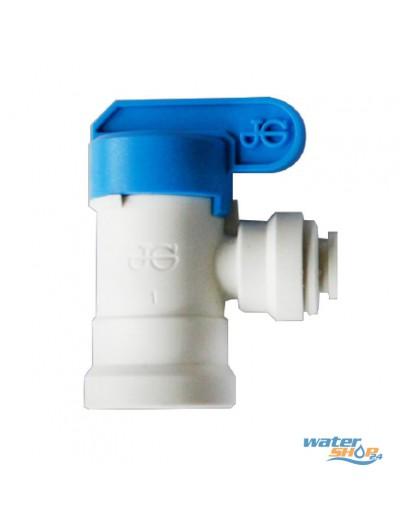 """Absperr-Hahn 1/4"""" Wasser-Tank"""