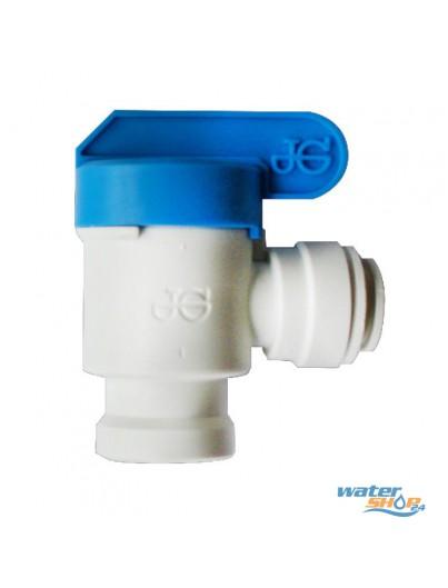 """Absperr-Hahn 3/8"""" Wasser-Tank"""