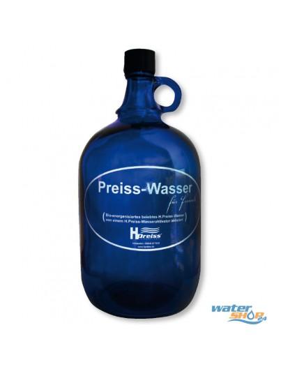 Henkelflasche blau 2l+Verschl.